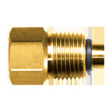 CNC Machined Metric Power Steering Adapter